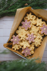 holiday treats. (rafael-castillo) Tags: marquefoods ifigourmet treats sweets holiday dessert food edible christmas winter cookies tree sugar product promotional advertising productphotography foodphotography rafaelcastillo rafaelcastillophoto freelance bayarea sfbayarea