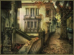 "From the series ""Walks in Portugal"". Autumn day in Sintra. (odinvadim) Tags: mytravelgram paintfx textured textures iphone editmaster travel iphoneography sunset evening iphoneonly painterly artist snapseed landscape photofx specialist iphoneart graphic painterlymobileart"