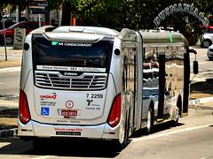 7 2259 Viação Campo Belo (busManíaCo) Tags: viaçãocampobelo caio millennium brt 2017 articulado mercedesbenz o500uda bluetec 5