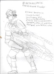 The Trials and Error During A Time Of War Alliance Marine Ground Pounder 001 (Andyrothley) Tags: soldier marine assaultrifle fullyautomatic fighter army military groundforces scifi war