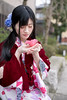 Young woman in kimono holding fallen camellia flower (Apricot Cafe) Tags: img25852 asia asianandindianethnicities higashichayamachi ishikawaprefecture japan japaneseethnicity japaneseculture kanazawa kimono sigma35mmf14dghsmart artscultureandentertainment beautifulwoman buildingexterior camellia charming cheerful citylife cultures day enjoyment eyesclosed fashion flower freedom freshness hairaccessory happiness holding lifestyles longhair oldfashioned oneperson onlywomen outdoors photography relaxation sitting smelling smiling springtime straighthair street threequarterlength tourism tradition traditionalclothing tranquility travel traveldestinations weekendactivities women youngadult