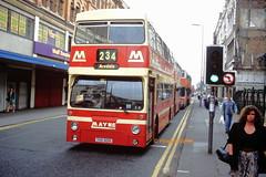 Mayne, Clayton 31 (THX 601S) (SelmerOrSelnec) Tags: mayne clayton leyland fleetline parkroyal thx601s b20 dms manchester oldhamstreet londontransport bus