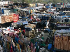 Washing day, Mumbai (notFlunky) Tags: india christmas new year sub continent