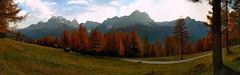 sexten fallcolors larches sundial dolomitidisesto hiking... (Photo: maxo1965 on Flickr)