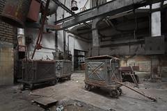 stuff (jkatanowski) Tags: urbex urban exploration europe poland indoor industry industrial decay mess metal canon forgotten abandoned lost tokina 1116mm trolley
