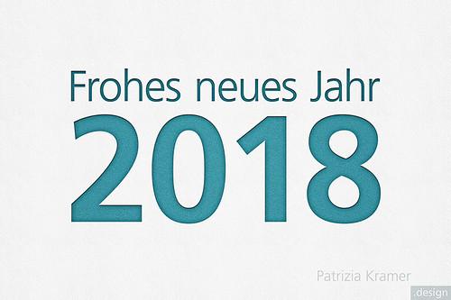 Neujahr 2018 · Happy New Year
