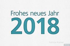 Neujahr 2018 · Happy New Year