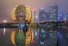 Intercontinental Hangzhou (David S.M.) Tags: intercontinental city travel lights night rain puddle hotel buildings skyscrapers water clouds rainy china asia hangzhou sony a7m2