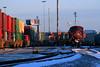 A Bensenville Winter (Jeff Carlson_82) Tags: cp 8534 ge sd30ceco cold snow winter chicagoland bensenville yard intermodal doublestack ac4400cw ac44cw lastlight train railroad railfan railway