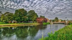 Landscape Bruges (BE) (ΨᗩSᗰIᘉᗴ HᗴᘉS +21 000 000 thx) Tags: landscape waterscape water clouds hdr bruges be bel belgium belgique bélgica belgia belgio belgië tree river 3exp hensyasmine yasminehens aaa