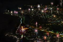 Øvre Årdal at midnight. (thorcw) Tags: firework night newyear