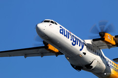 G-LERE ATR 72-212A, Aurigny Air Services, Bristol Airport, Lulsgate Bottom, Somerset (Kev Slade Too) Tags: glere atr72 aurignyairservices gr643 ayline43d runway27 eggd bristolairport lulsgatebottom somerset