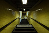 Barbican #II (Alexander Rentsch) Tags: sonya7ii canontse17mmf4l greatbritain england london cityoflondon barbican underground subway architecture architektur urban city utopia scifi modernism future retro vintage colors colours farben geometry vscofilm