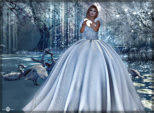 ╰☆╮Aster winter gown by Tiffany Designs╰☆╮