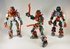 Tablescrap - Defender of Copper (0nuku) Tags: bionicle lego copper toa g2 pohatu sandgreen