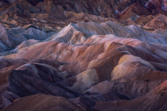 Ice Cream Melt (Joaquin James Javier) Tags: zabriskie point death valley national park morning dawn canyon hills ridge rolling color desert
