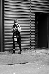 The appointment (pascalcolin1) Tags: paris femme woman rendezvous appointment lumière light photoderue streetview urbanarte noiretblanc blackandwhite photopascalcolin 50mm canon50mm canon