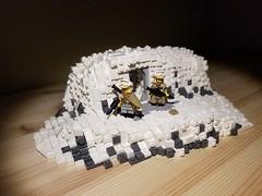 """""""Imperial walkers on the north ridge"""" (Neighborhoodbricks) Tags: lego legostarwars starwars star wars hoth legohoth legobattle battle legoarmy army legobase base legoplanet planet"""