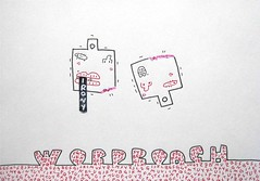 foolish drawing (wordroach) (ksaito57) Tags: art foolish drawing irony word