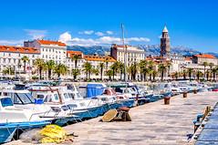 Split, Croatia (Kevin R Thornton) Tags: d90 split travel 2017 architecture city mediterranean croatia europe harbour transport splitskodalmatinskažupanija hr