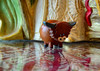 Moo! (BKHagar *Kim*) Tags: bkhagar cow cattle highland highlandcow wood wooden tiny toy scotland kyliecoo gift