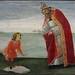BOTTICELLI (et Atelier),1487-88 - La Vision de Saint Augustin (Florence) - 0
