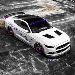 SNY03790 (Incurve Wheels) Tags: incurve wheels bagged mustanggt fordmustang asanti lexani forgiato steeda airlift vossen velgen american rims customwheels purple forgedwheels sheby incurvewheels