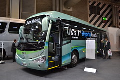 Irizar Hybrid Coach (Will Swain) Tags: bus coach live birmingham nec 4th october 2017 west midland midlands city centre buses transport travel uk britain vehicle vehicles county country england english coaches irizar hybrid