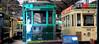Motrice B45 et motrice 193, Musée des transports en commun de Wallonie, Liège, Belgium (claude lina) Tags: claudelina belgium belgique belgïe musée museum liège muséedestransportsencommundewalonie tram tramway