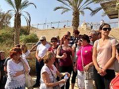 5 - Zarándokok a Jordán folyónál / Pútnici pri rieke Jordán