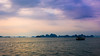 Cruising on Bai Tu Long Bay - Vietnam (clement.siffre) Tags: sunset vietnam sea bai tu long boat