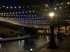 Places with memories (tania mariscal) Tags: canal nightlights night riverwalk santalucia paseosantalucia water canals