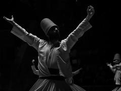 sem1 (Hsndnmz) Tags: sema konya sufi mevlana sebiarus turkey semazen bnw siyahbeyaz bw mystic music mysticism black
