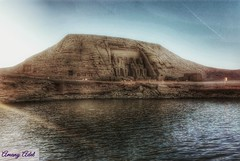 The art of glory (amanyadel9212) Tags: temples nile water sky sand egyptian monuments mobile photography sunset aswan landscape desert travel egypt journey abu simbel