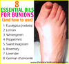 8 Best Essential Oils for Bunions & How to Use (theoilyguru.org) Tags: aromatherapy bunions essential oils therapeutic