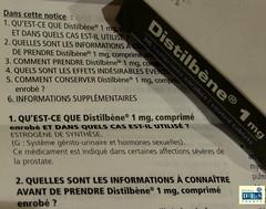 Distilbène® 1mg (DES Daughter) Tags: distilbene france des menshealth drugs