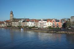Hoog water IJssel Deventer 2017