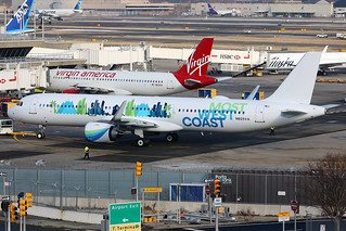 N925VA | Airbus A321-253N | Virgin America (special