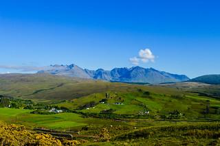 The Cuillin Mountain Range