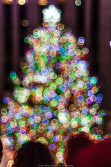 Christmas in NYC (jomak14) Tags: 2017 christmasinnyc fotodioxpropktom43adapter gf2 microfourthirds panasonic pentax50mmf12 people smcpk50mmf12 christmastree bokeh rockefellercenter