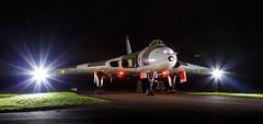 Avro Vulcan B2 - 72 (NickJ 1972) Tags: wellesbourne airfield avro 698 655maps maps vulcan b2 photoshoot photo photocall shoot nightshoot night timeline events tle xm655