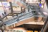 Berlin Central station - interesting platform (cancom) Tags: berlin hauptbahnhof centralstation rolltreppe escalator