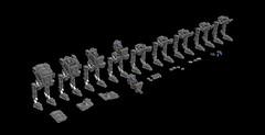 my new MOC - First Order AT-ST form The Last Jedi (kozikyo86) Tags: lego star wars moc mod 75201 75153 atst first order ldd wip last jedi building rey force finn kylo ren luke skywalker stormtrooper