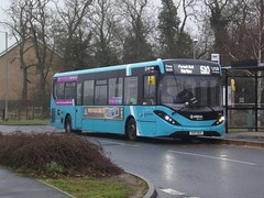 24/7/365: Arriva Harlow ADL Enviro200MMC YX17NGY (4081) Walson Way Stansted Mountfitchet 25/12/17 (TheStanstedTrainspotter) Tags: arriva arrivakentthameside bus buses stansted stanstedmountfitchet public transport publictransport bishopsstortford harlow networkharlow adl dennis alexander alexanderdennis enviro200 enviro200mmc adlenviro200mmc yx17ngy 4081 508 509 510 stanstedairport walsonway christmas skelton special limited
