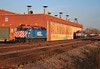 M19Assembly (BravoDelta1999) Tags: unionpacific up railroad chicagoandnorthwestern cnw railway genevasubdivision m19a coach yard shops chicago illinois emd f40ph 153 161 141
