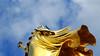 - looked under the coat - (Jac Hardyy) Tags: looked under coat berlin germany victoria victory column monument bronze sculpture female figure laurel wreath shiny gold golden siegessäule säule denkmal skulptur figur lorbeerkranz glänzend