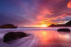 Puesta de sol (Juan Galián) Tags: canon60d costa coast cielo paisaje playa puestadesol landscape longexposure largaexposición litoral agua water murcia mediterráneo marina
