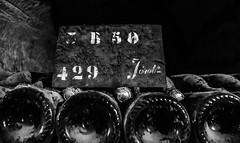 2017-12-28 – Jeroboam (Cynical Dogs) (Robert - Photo du jour) Tags: décembre 2017 regarddunjour jeroboam cynicaldogs pommery vin château spiritueux bouteille visite cave poussière plaque indication champagne reserve
