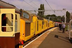 Waiting a path at Wolverhampton (Chris Baines) Tags: network rail 9730497302 wolvehampton pathfinder bescot aberystwyth waiting virgin pendilino