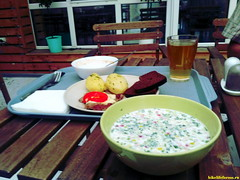 Обед в Краснодаре.